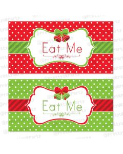 Christmas Labels / Buffet Table Cards