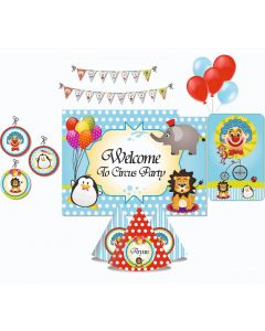 Circus Party Decorations Package - 70 pieces
