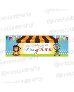 Personalised Circus banner