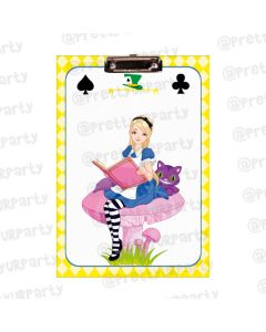 Personalised Alice in Wonderland Clipboards