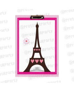 Personalised Paris Inspired Clipboards