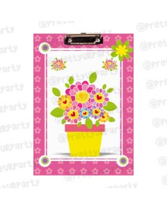 Personalised Flower Clipboards