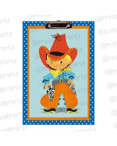 Personalised Little Cow Boy Clipboards