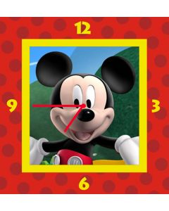 mickey mouse square clock