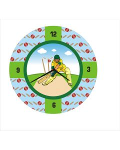 cricket round clock