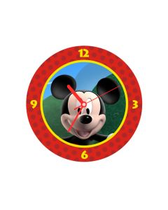 mickey mouse round clock