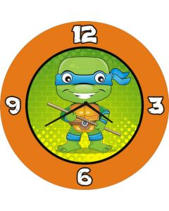 Ninja Turtles Round  Clock