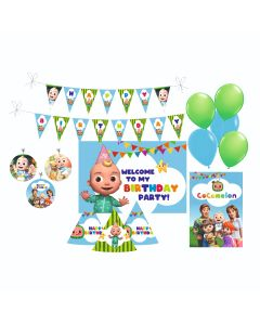 Cocomelon Party Decorations Package - 70 pieces