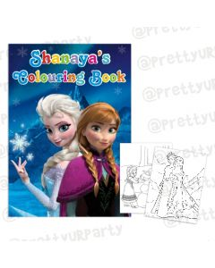 Frozen Inspired Colouring Book