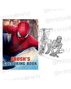 Spiderman Colouring Book