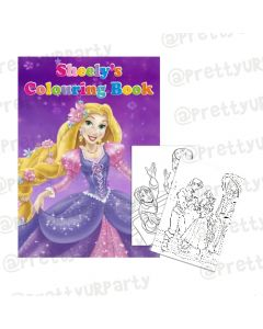 Tangled / Rapunzel Colouring Book