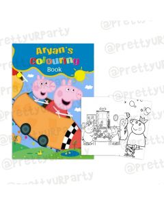 Peppa Pig inspired Colouring Book