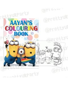 Despicable Me Minions Colouring Book