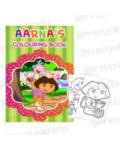 Dora the Explorer Colouring Book
