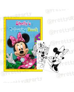 Minnie Mouse Clubhouse Colouring Book