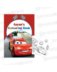 Disney Cars Inspired Colouring Book