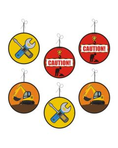 construction theme  danglers