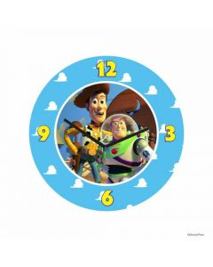 Personalized Toy Story Clock - Round