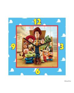 Personalized Toy Story Clock - Square
