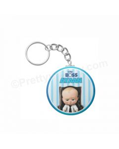Personalised Boss Baby Keychain