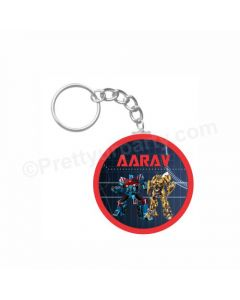 Personalized Transformers Keychain