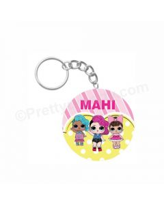 Personalized LOL Surprise Keychain