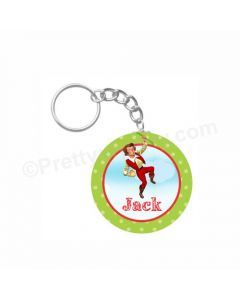 Personalized Jack & The Beanstalk Keychain