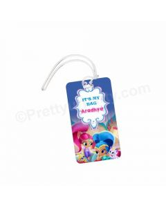 Shimmer and Shine Luggage Tag