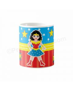Personalized Wonder Woman Mug