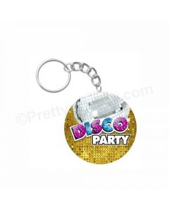 Personalized Disco Keychain
