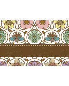 Brown Strip Placemats