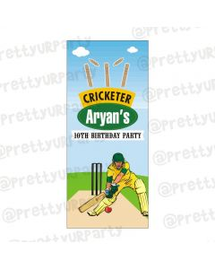 Cricket Door Banner