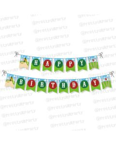 cricket theme bunting