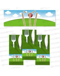 cricket theme napkin rings