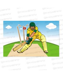 cricket theme  table mats
