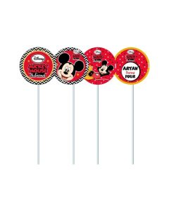 mickey mouse cupcake / food toppers