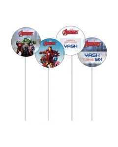 Avengers Cupcake / Food Toppers