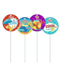 Winnie The Pooh Cupcake / Food Toppers