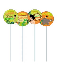 Jungle Book Cupcake / Food Toppers