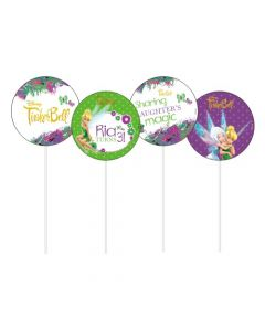 Tinkerbell Theme Cupcake / Food Toppers
