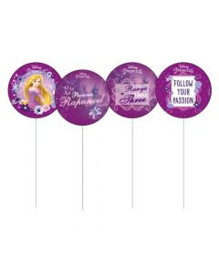 Tangled / Rapunzel Cupcake / Food Toppers