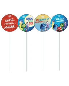 Inside Out Cupcake / Food Toppers