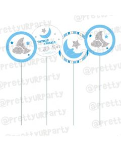 Twinkle Boy Cupcake / Food Toppers