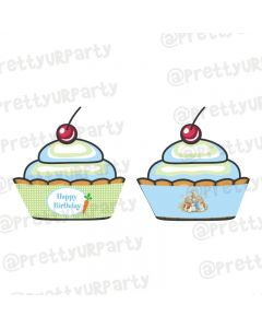 Peter Rabbit Theme Cupcake Wrappers