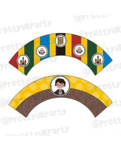 Harry Potter Cupcake Wrappers
