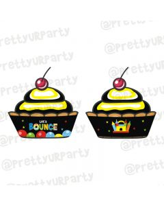 Ball Theme Cupcake Wrappers
