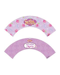 Sofia the first Enchanted Garden Party Cupcake Wrappers