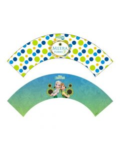 Frozen Fever Cupcake Wrappers