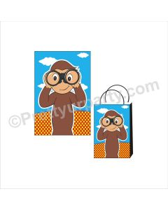 Curious George Theme Khoi Bag / Pinata
