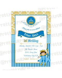Prince Theme E-Invitations
